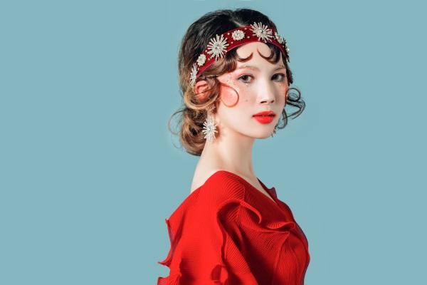 国际晚妆造型盘发班