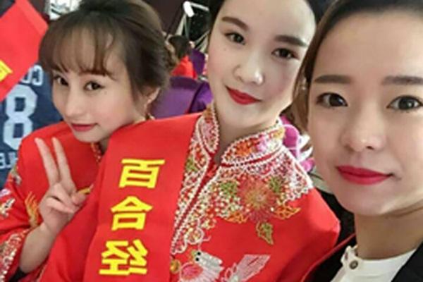 菲菲塘厦片区马文惠高薪任职百合经典高级化妆师