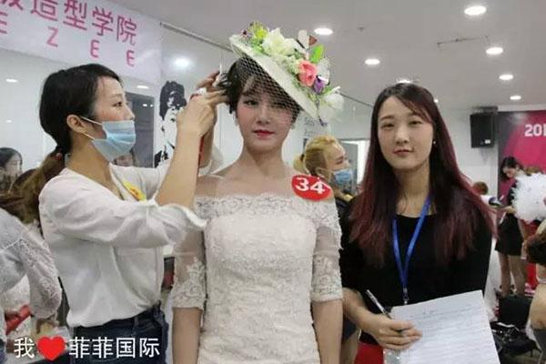 2016年美极杯美妆师竞赛――这样的新娘妆才能让你一生难忘