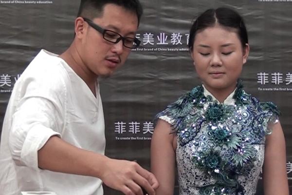 【化妆视频教程】现场实操(1)